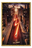 フラッシュワンシート映画ポスター磁気掲示板オーク - 額入り - 96.5 x 66 cm(約38 x 26インチ)