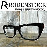 RODENSTOCK(ローデンストック)メガネフレーム 不朽の名作、復刻モデル「ROCCO」 R5101 (ブラック)