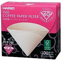 HARIO (ハリオ) V60用 ペーパーフィルター M1~4杯用 100枚箱入り みさらし VCF-02-100MK