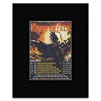 HAMMERFALL - May 2010 Tour Mini Poster - 13.5x10cm