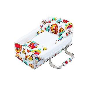 フジキ バッグdeクーファン ZOO(ズー) ホワイト クーファン オムツ替え お昼寝マット プレイマット バッグ 日本 0歳