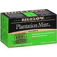 Bigelow Plantation Mint Tea、20-countボックス