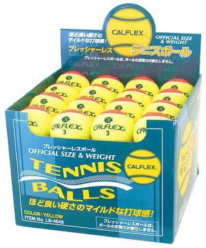 硬式テニスボール1P LB-4048YL×OG
