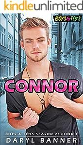 Connor (Boys & Toys Season 2 Book 1) (English Edition)