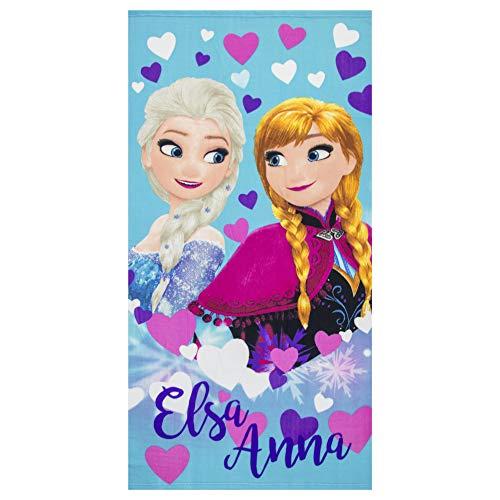 ディズニー アナと雪の女王 エルサとアナ 子供用ビーチタオル...