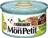 ピュリナ モンプチ 缶 あらほぐし仕立て ローストチキン トマト入り 85g