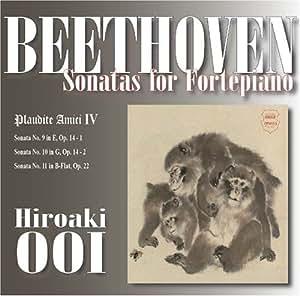 ベートーヴェンフォルテピアノのためのソナタ集 Plaudite Amici IV                                                                                                                                                                                                                  曲目リスト