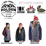 15-16 HOLDEN ウェア ホールデン スノーボードウェア MOTO JACKET モト ジャケット レディース (Black, M)