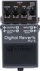 BOSS ボス デジタル・リバーブ Digital Reverb RV-5(T)