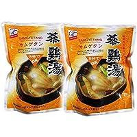 サムゲタン 参鶏湯 800g ×2袋セット