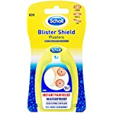 Scholl Blister Shield Plaster Waterproof Instant Pain Relief Large & Small (Count of 5)