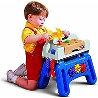 Little Tikes Little Handiworker Workhorse ( Colors / Styles Vary )、子供Like Craftsmanワークベンチ