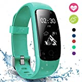 Fitness Tracker, moreFit Slim Touch HR Heart Rate Waterproof Activity Tracker Wireless Bluetooth Smart Bracelet Watch Sleep Monitor Pedometer