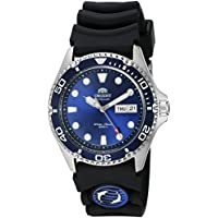 Orient Men's 'Ray II Rubber' Japanese Automatic Stainless Steel Diving Watch, Color:Silver-Toned (Model: FAA02008D9)