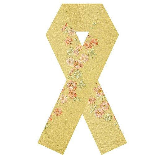 刺繍の半衿 振袖用 小桜 (S14-11)