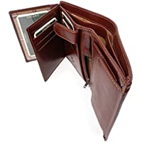 Visconti Wallet - Italian Style Leather - RFID Available/Hardwearing/Gift Boxed - MZ3 Milan