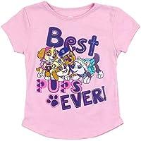 Nick Jr Little Girls' Toddler Paw Patrol Best Pups Tee