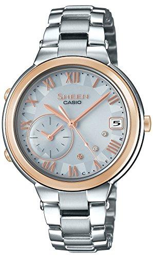 カシオCASIO 腕時計 シーン VOYAGE TIME RING Series スマートフォンリンクモデル SHB-200ASG-7AJF レディース