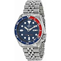 SEIKO MEN'S 42MM STEEL BRACELET & CASE AUTOMATIC BLUE DIAL WATCH SKX009K2