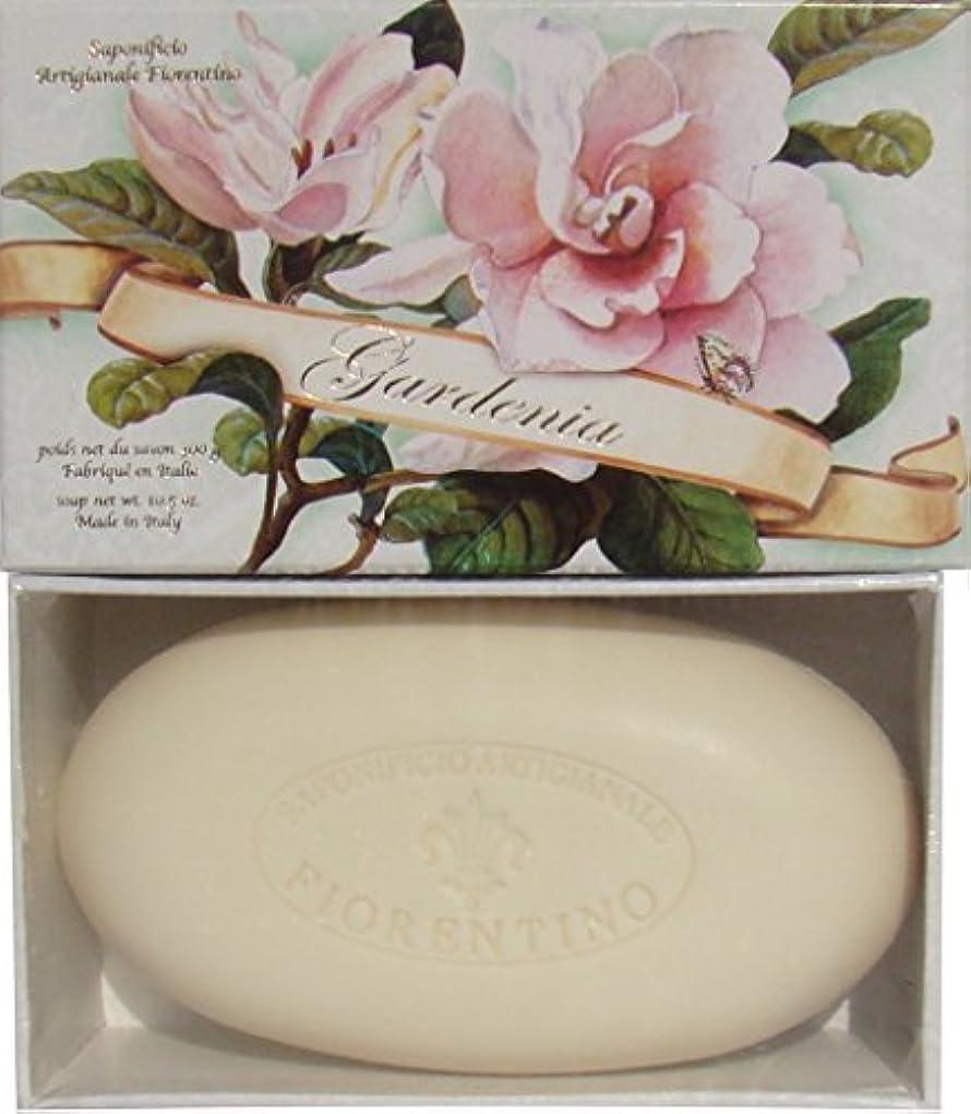 ラウンジ熟達した人工Italian Hand Made Gardenia Scented Soap [並行輸入品]