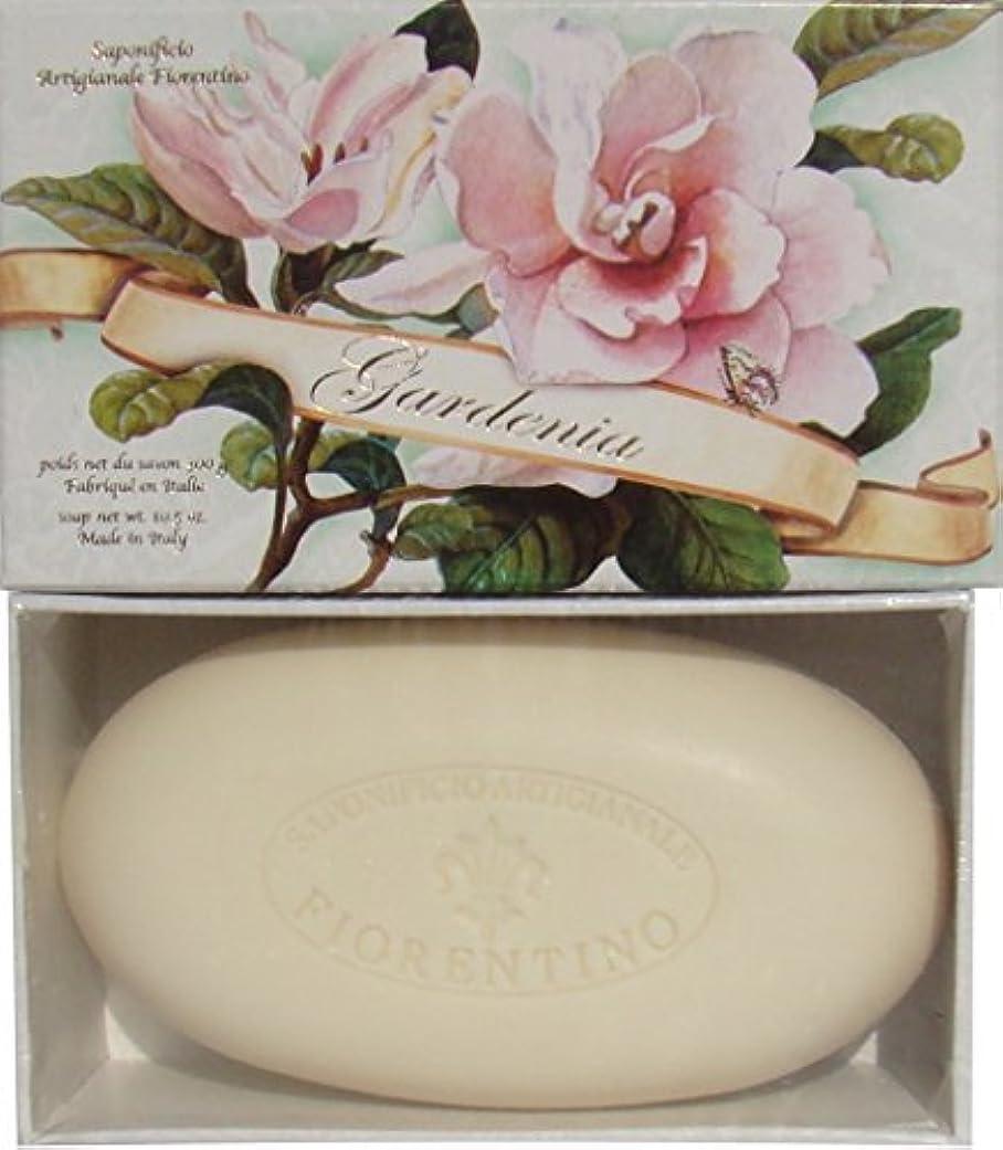 ウナギシャイニング宇宙Italian Hand Made Gardenia Scented Soap [並行輸入品]