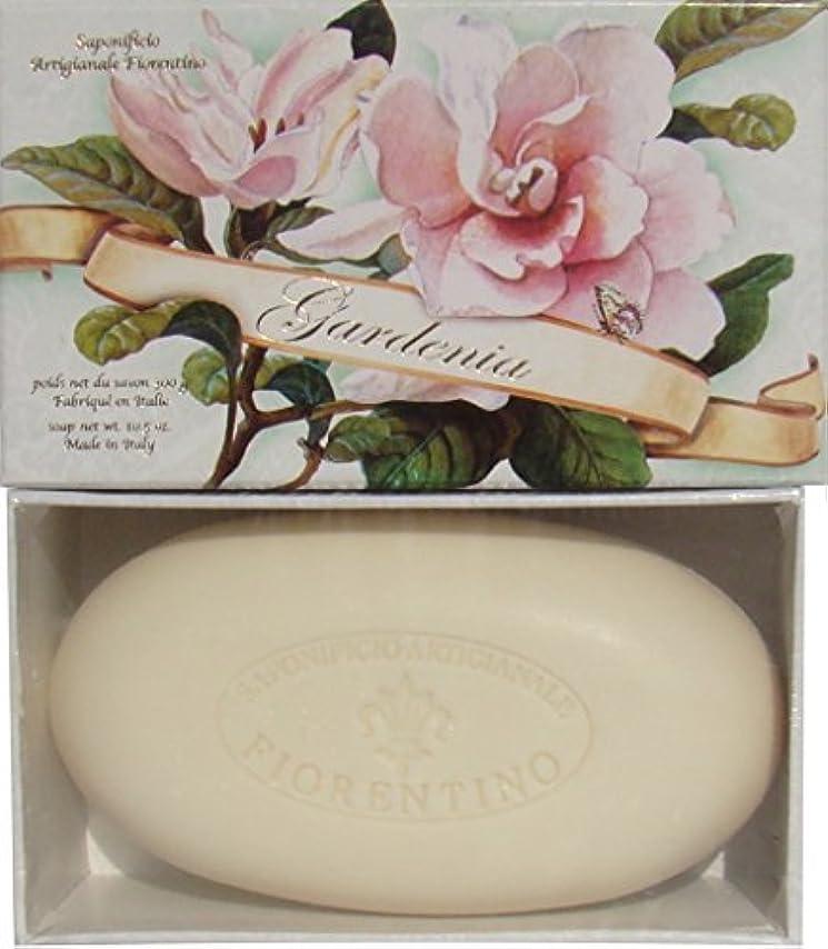 贈り物たまにしなやかItalian Hand Made Gardenia Scented Soap [並行輸入品]