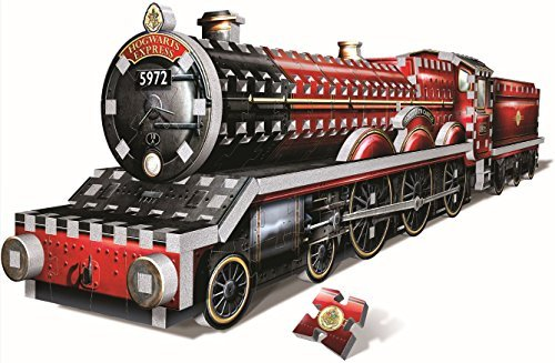 Harry Potter 's Hogwarts Express Trainパズル3dジグソーパズルby Wrebbitパズ3d