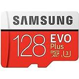 128GB Samsung サムスン microSDXCカード EVO Plus Class10 UHS-I U3 R…