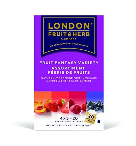 ロンドンフルーツ&ハーブ ティーバッグ フルーツファンタジー バラエティーパック 20袋
