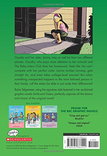 『The Baby-Sitters Club 4: Claudia and Mean Janine (Baby-Sitters Club Graphix)』の1枚目の画像