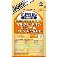 小林製薬 マルチビタミン ミネラル コエンザイムQ10(120粒×3個セット)【ネコポス発送】