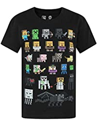 マインクラフト 男の子 Minecraft Tシャツ