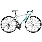 Bianchi (ビアンキ) ロードバイク VIA NIRONE 7 PRO CLARIS (ビア ニローネ 7 プロ クラリス ) 2018モデル(ホワイト) 50サイズ