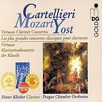 クラリネット協奏曲集(Mozart、Cartellieri、Yost) クレッカー(cl)prague.co
