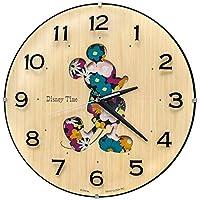セイコー クロック 掛け時計 ミッキーマウス アナログ ミッキー&フレンズ Disney Time ディズニータイム 天然色木地 FW586B SEIKO