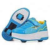 ヒーリーズ ローラーシューズ 2輪 3用靴 子供用 男の子 スライド無騒音 ウィール収納可能穴付き スポーツ ローラー スケート