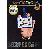 MMS Secure a Card Simon Jacobs and Magictao Trick Kit, Red By MMS [並行輸入品]