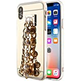 Huawei Y5 II Case - Phoebe Slim Case [ ポーチ ] with 耐久保護ケース Drop Protection for Huawei Y5 II (Chain)