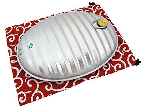 湯たんぽA(エース)3.5L 和柄袋付 エンジ 23422