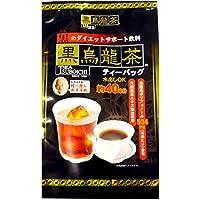 日本伝統食品 黒烏龍茶ティーバッグ 5g×40P