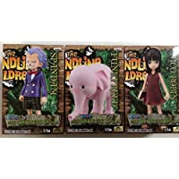 ワンピース DXフィギュア~THE GRANDLINE CHILDREN VOL.4 ニコ・ロビン、スパンダム、ファンクフリード 全3種セット