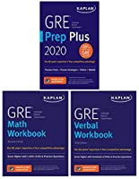 GRE Complete 2020: 3-Book Set: 6 Practice Tests + Proven Strategies + Online (Kaplan Test Prep)