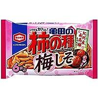 亀田製菓 亀田の柿の種梅しそ6袋詰 182g×6袋