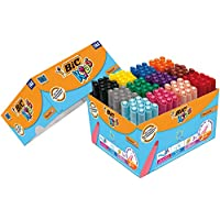Bic Kids Visacolor XL Colouringペン144 Classpack