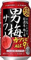 サッポロ 超男梅サワー [ チューハイ 350ml×24本 ]
