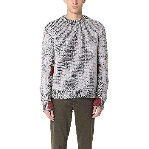 (スリーワン フィリップ リム) 3.1 Phillip Lim メンズ トップス ニット・セーター Fair Isle Jacquard Crew Sweater [並行輸入品]