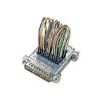 (まとめ) サンワサプライ RS-232Cミニワイヤリング AD10-25【×2セット】 ds-1760010