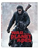 APE War For The Planet Of The Apes + DVD + Digital with Ultrav Blu-ray - From USA.
