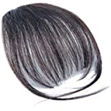 Fashion One Piece Clip in Hair Bangs/Fringe/Hair Extensions Fake Hair Pieces (Natural Color)