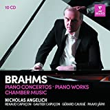 Nicholas Angelich - Brahms : Piano Concertos / Piano Warks / Chamber Music